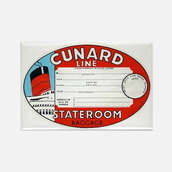 Cunard luggage tag Magnets