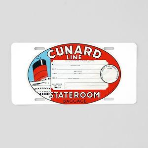 Cunard luggage tag Aluminum License Plate