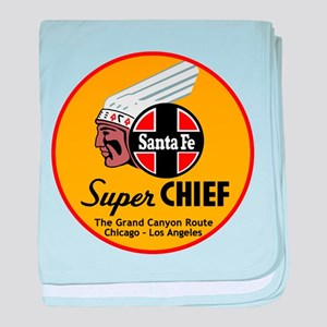Santa Fe Super Chief1 baby blanket
