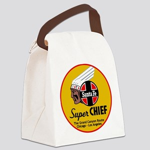 Santa Fe Super Chief1 Canvas Lunch Bag