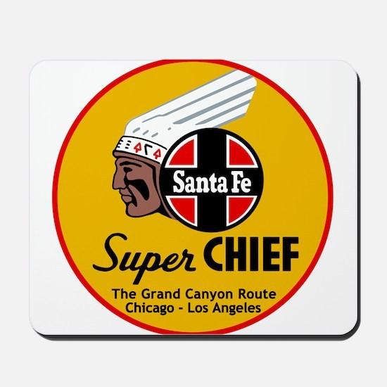 Santa Fe Super Chief1 Mousepad