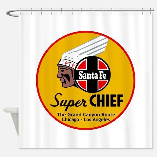 Santa Fe Super Chief1 Shower Curtain