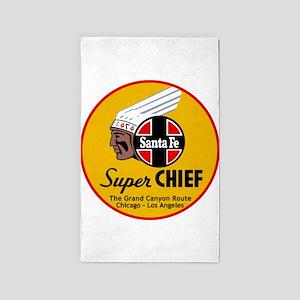 Santa Fe Super Chief1 Area Rug