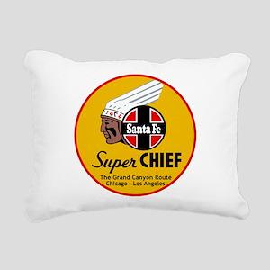 Santa Fe Super Chief1 Rectangular Canvas Pillow
