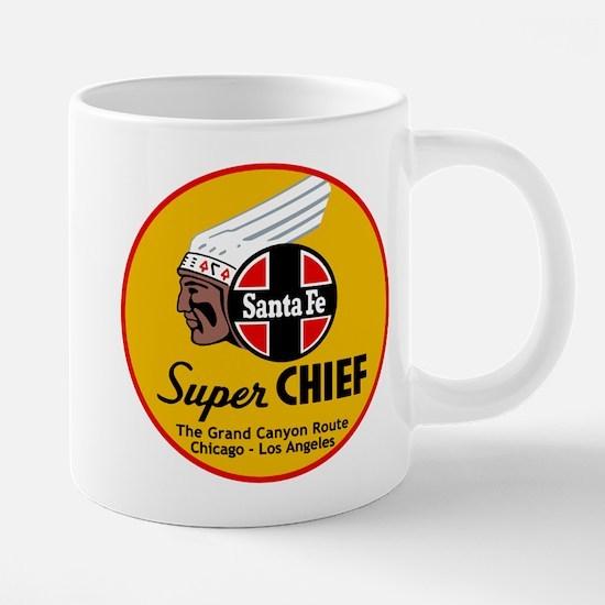 Santa Fe Super Chief1 20 oz Ceramic Mega Mug