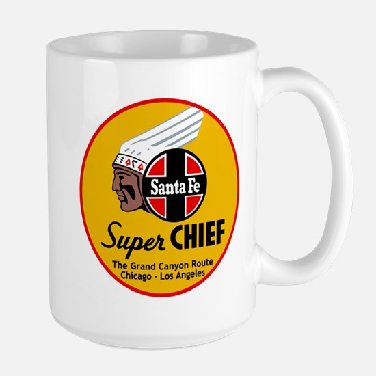 Santa Fe Super Chief1 Mugs