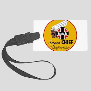 Santa Fe Super Chief1 Large Luggage Tag
