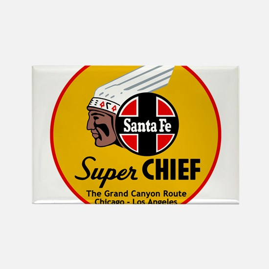 Santa Fe Super Chief1 Magnets