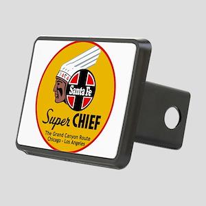 Santa Fe Super Chief1 Rectangular Hitch Cover