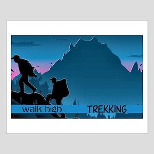 Trekking Small Poster