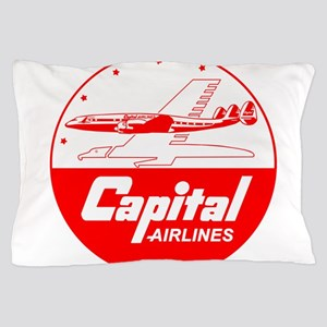 Capital Airlines Constellation Pillow Case