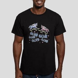 Glub Glub Men's Fitted T-Shirt (dark)