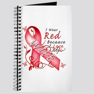 I Wear Red Because I Love My Wife Journal