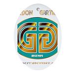 Gordan Gartrell 1 Ornament (Oval)