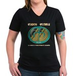 Gordan Gartrell 1 Women's V-Neck Dark T-Shirt