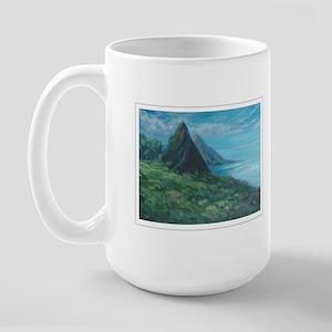 St. Lucia Pitons Large Mug