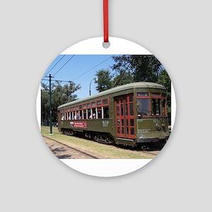 Streetcar 6 Ornament (Round)