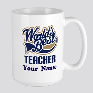 Personalized Teacher Mugs