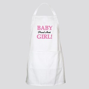 Baby Girl Proud Aunt BBQ Apron