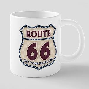 rt66-check-T 20 oz Ceramic Mega Mug