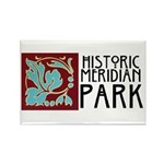 Historic Meridian Park Rectangle Magnet