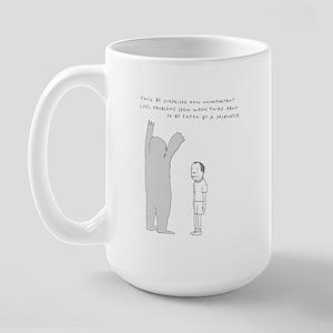 Sasquatch Large Mug