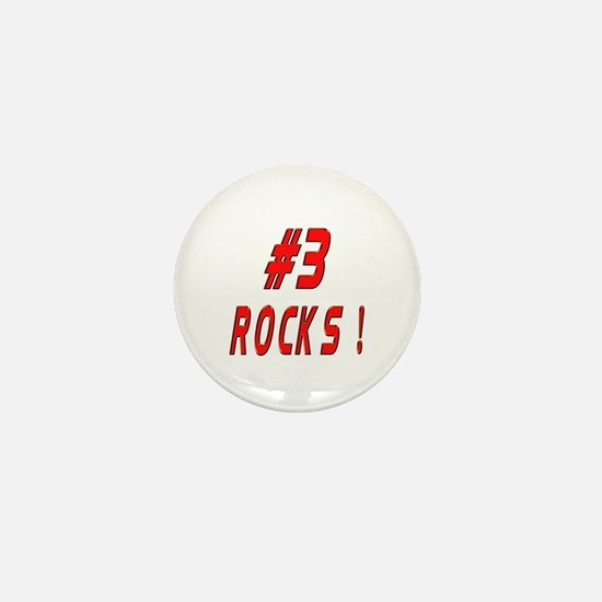 3 Rocks ! Mini Button