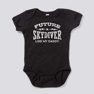 Future Skydiver Like My Daddy Baby Bodysuit