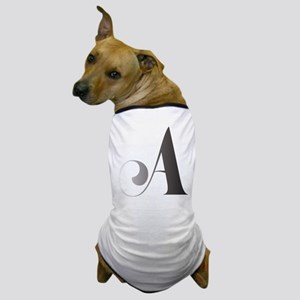 Monochromatic A Scroll Monogram Dog T-Shirt