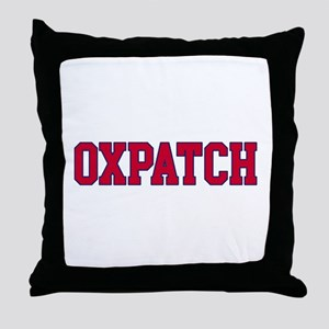 Oxpatch Throw Pillow