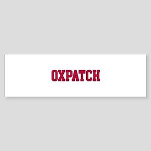 Oxpatch Sticker (Bumper)