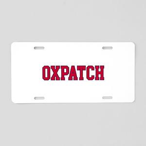 Oxpatch Aluminum License Plate