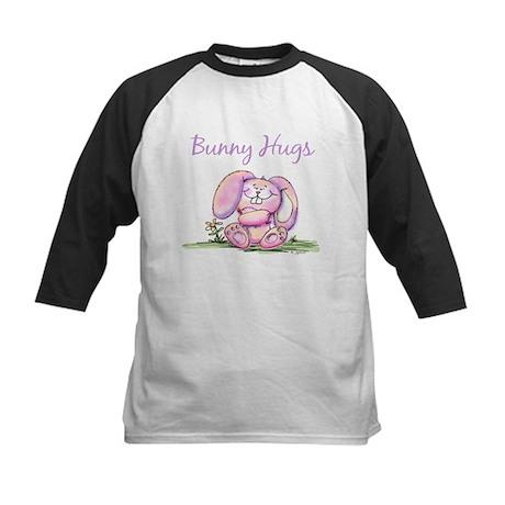 Bunny Hugs Kids Baseball Jersey