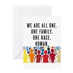 We Are All One Greeting Cards