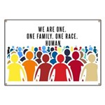 We Are All One Banner