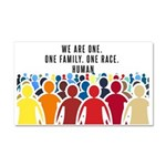 We Are All One Car Magnet 20 x 12
