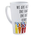 We Are All One 17 oz Latte Mug