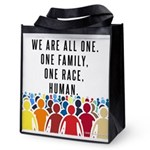 We Are All One Reusable Grocery Tote Bag
