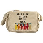 We Are All One Messenger Bag