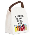 We Are All One Canvas Lunch Bag