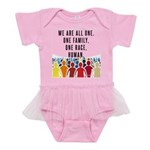 We Are All One Baby Tutu Bodysuit
