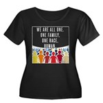 We Are All One Plus Size T-Shirt