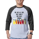 We Are All One Mens Baseball Tee