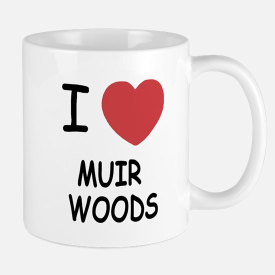 I heart muir woods Mug