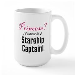 Starship Captain Large Mug