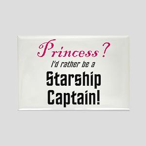 Starship Captain Rectangle Magnet (10 pack)