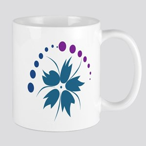 Flower circle design Mug