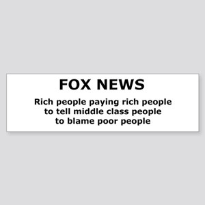 FOX NEWS...Rich people paying rich people... Stick