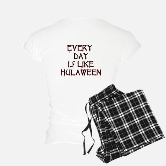 Goth Hula Girl Pajamas
