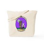 Goth Hula Girl Tote Bag